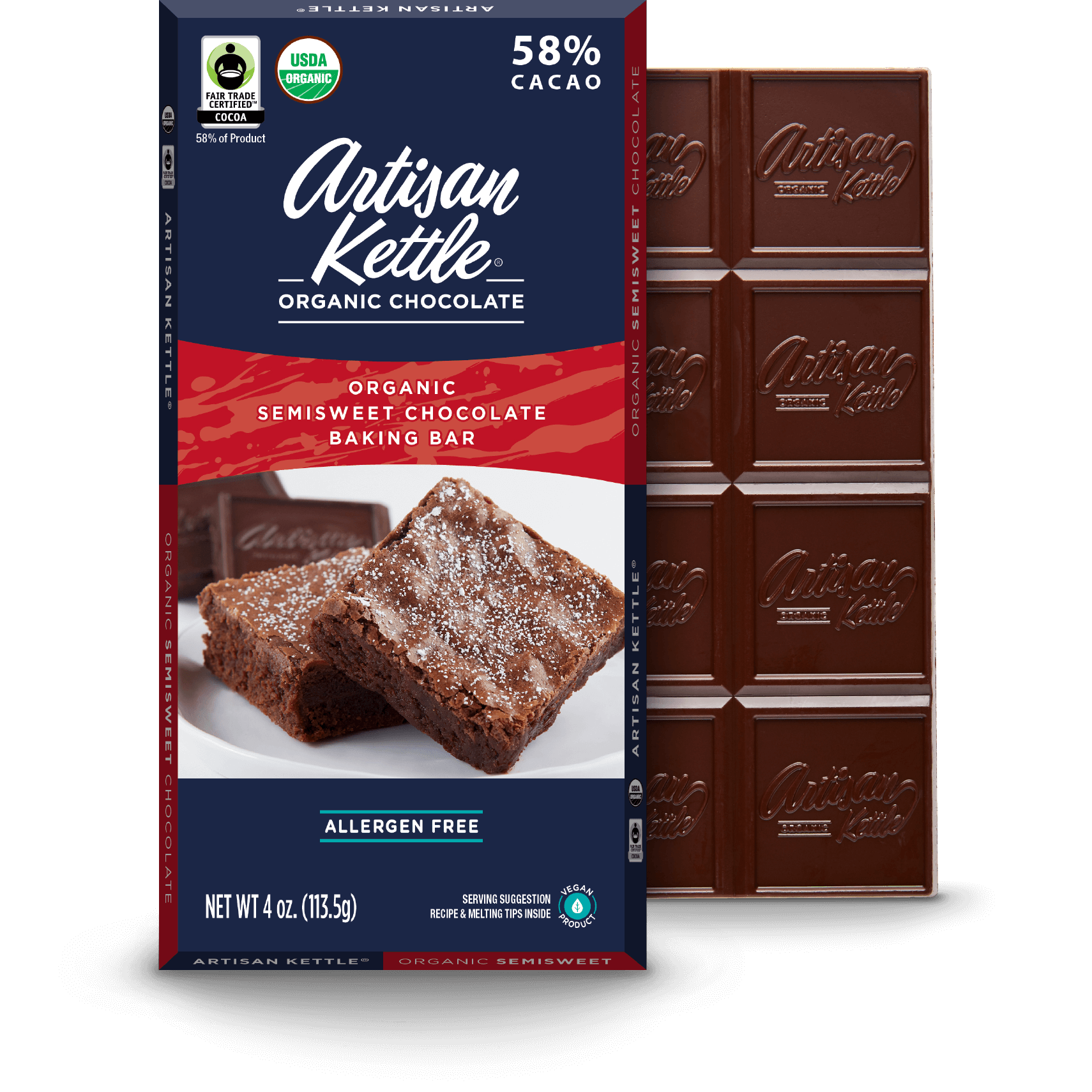 Organic Semisweet Chocolate Baking Bar